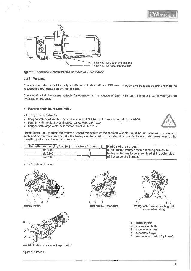 manual for liftket electrical chain hoist rh slideshare net Coffing Hoist Wiring-Diagram CM Lodestar 1 Ton