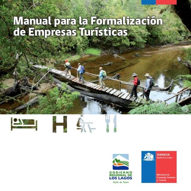 Manual para la Formalización de Empresas Turísticas