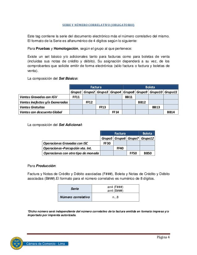 manual formato para facturacion electronica