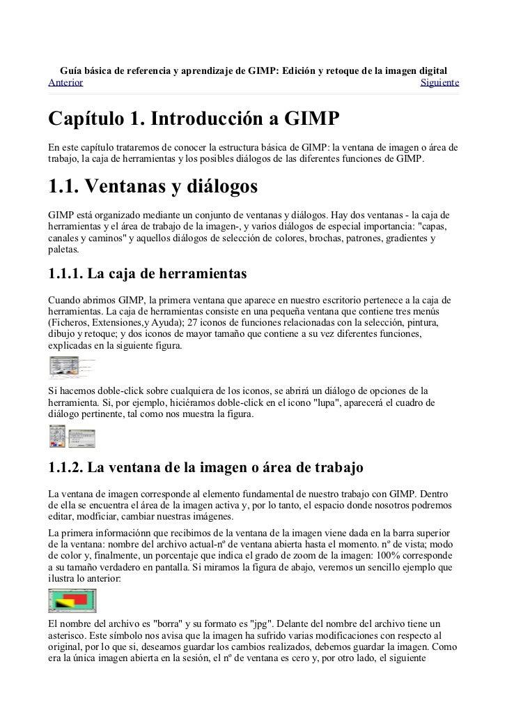 Manual gimp (spanish) Slide 3