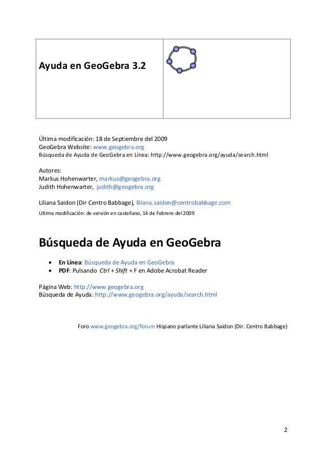 Manual GeoGebra Slide 2