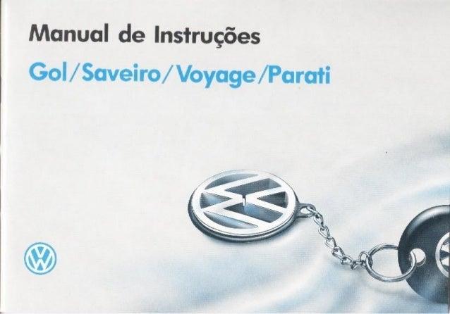 Manual de Instruções  60| /  Saveiro/  Voyage / Paratí