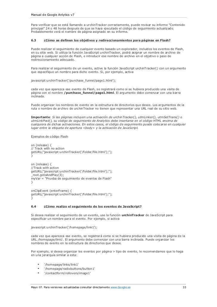 Manual de Google Analytics