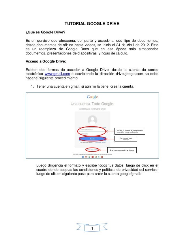 Manual google drive Slide 2