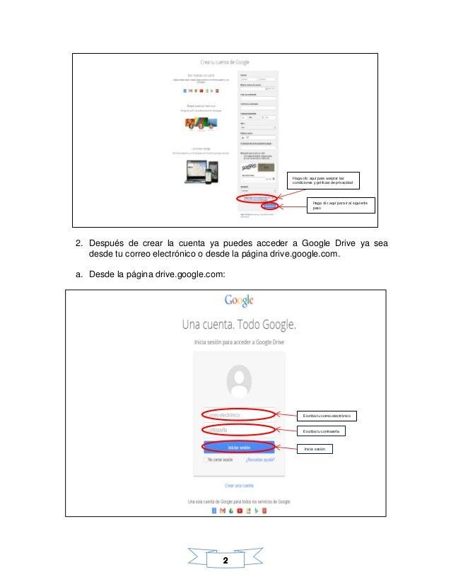Manual google drive Slide 3