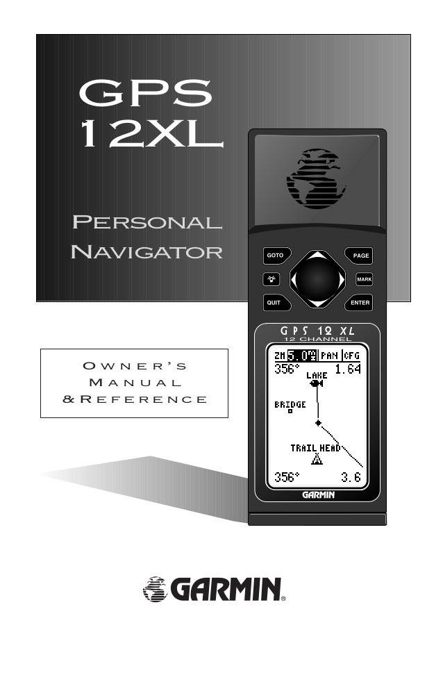 manual gps 12 xl rh slideshare net