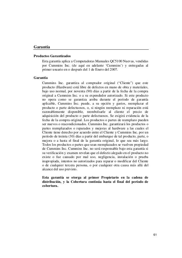 Cummins Qc5100 Manual