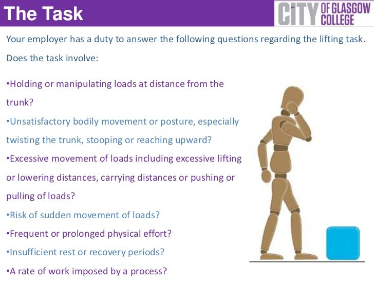 manual handling rh slideshare net Program Manual manual handling quiz questions and answers