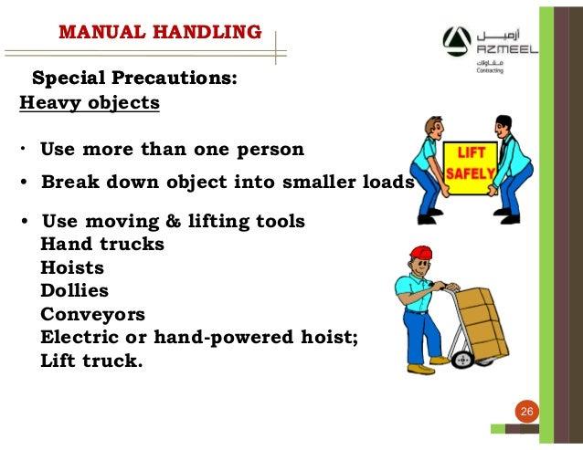 manual handling. Black Bedroom Furniture Sets. Home Design Ideas