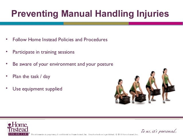 aged care manual handling equipment