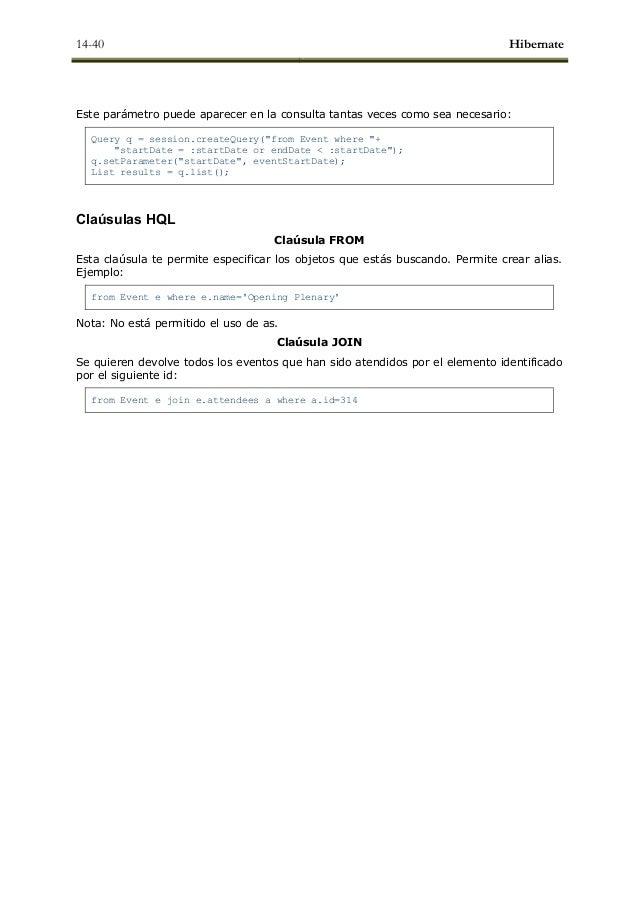 Hql Manual join