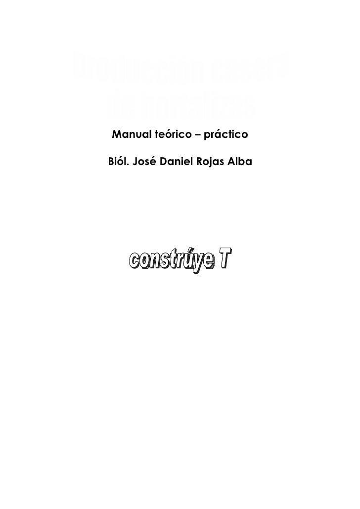 Manual teórico – prácticoBiól. José Daniel Rojas Alba