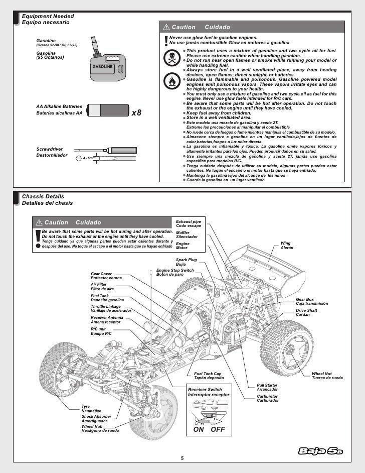 manual hpi baja 5b. Black Bedroom Furniture Sets. Home Design Ideas