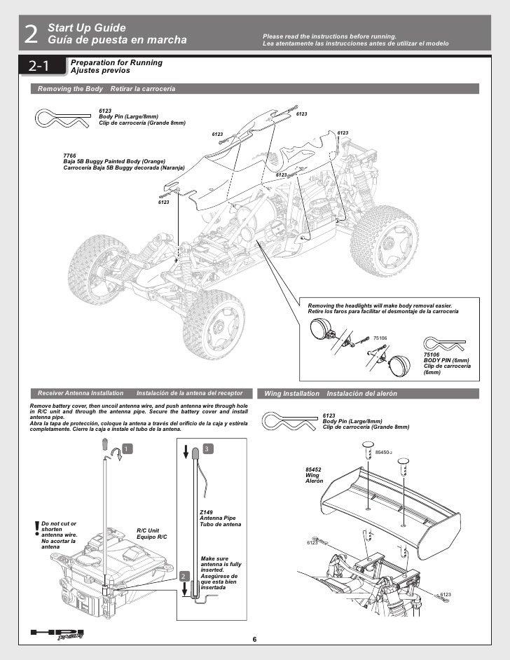 Hpi Baja 5b Parts Diagram
