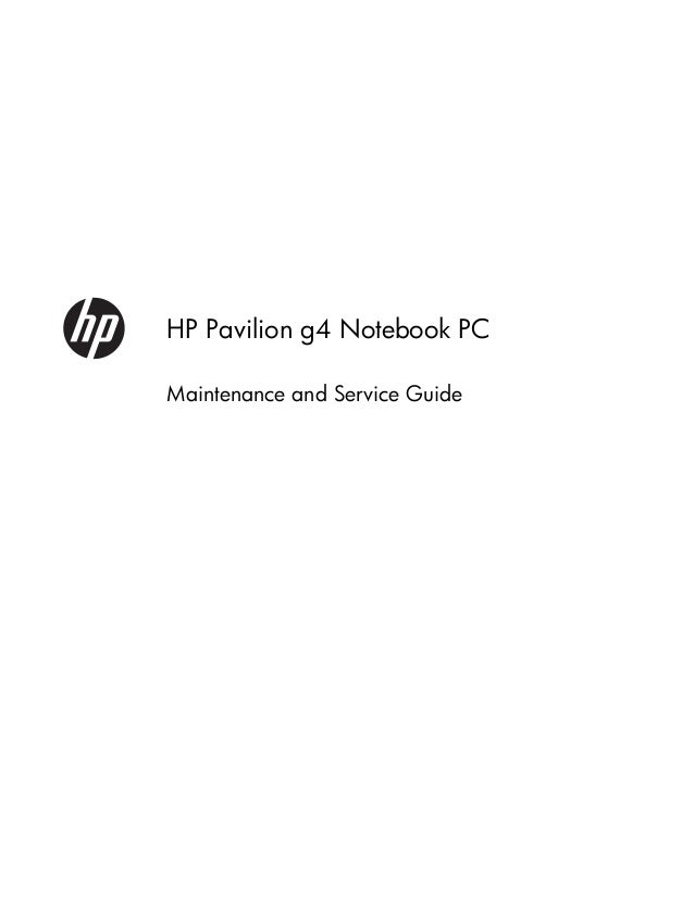 HP Pavilion DV9650 Maintenance And Service Manual