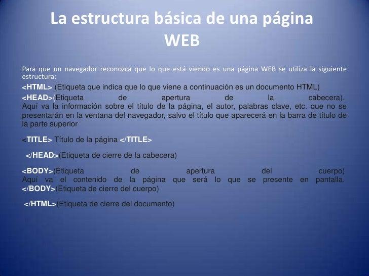 Manual para crear p ginas web con html for Que es una pagina virtual
