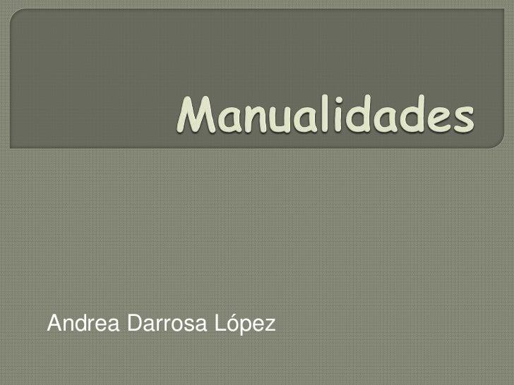 Andrea Darrosa López