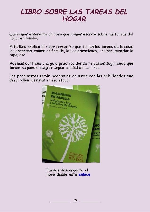 Queremos enseñarte un libro que hemos escrito sobre las tareas del hogar en familia. Estelibro explica el valor formativo ...
