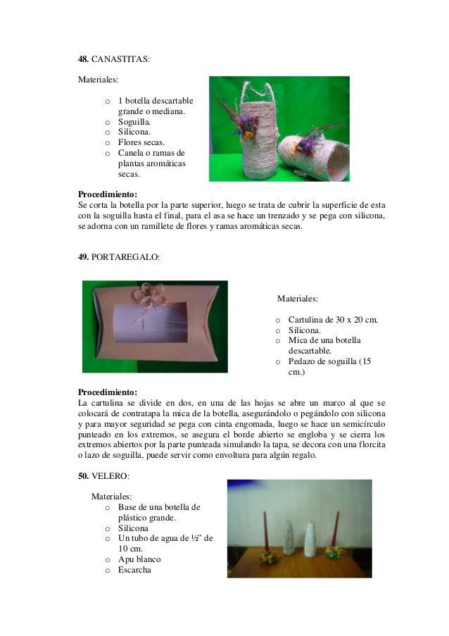 Manualidades Con Material Reciclable