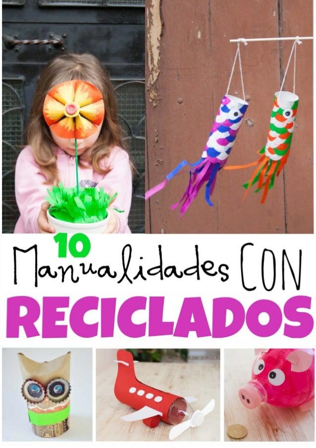 manualidades recicladas 1 - Manualidades Recicladas