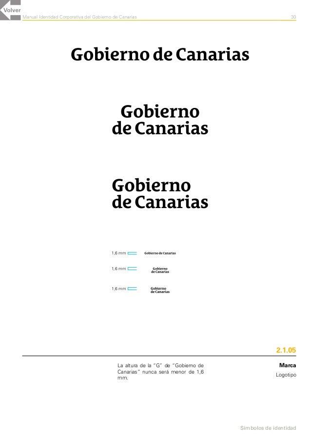 Gobierno de Canarias (Manual de Identidad Corporativa Gráfica)