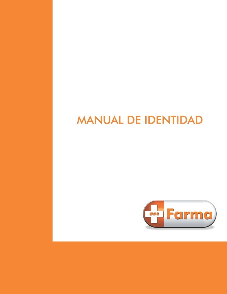 Manual identidad  mas farma