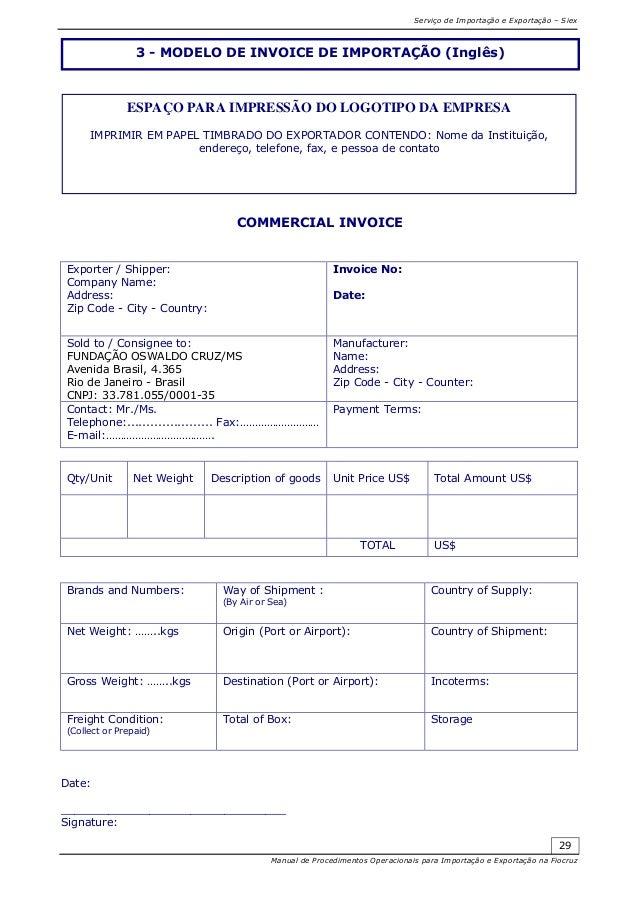Modelos De Invoice Pertaminico - Modelo de invoice