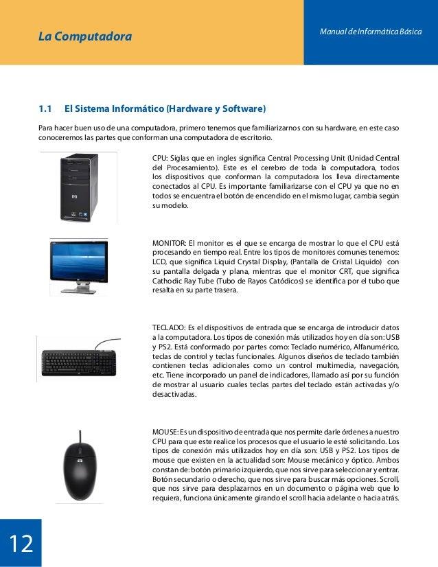 Manual informatica secundaria kevin castrillon for Que significa hardware