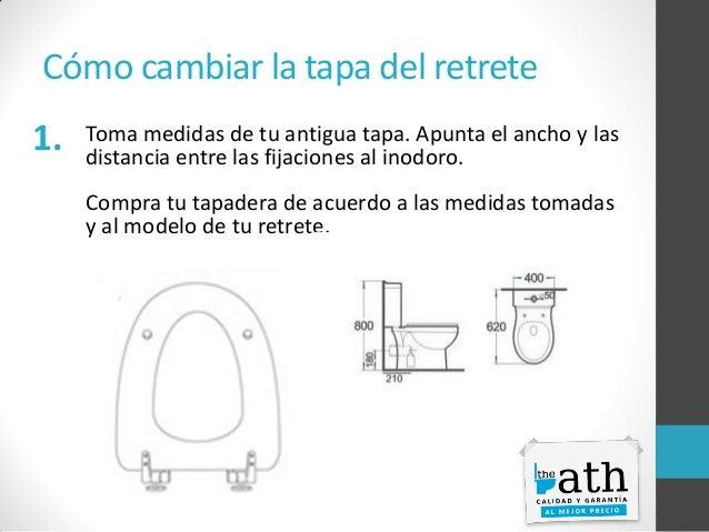 Manual inodoros: Cómo montar una tapa de WC Slide 3