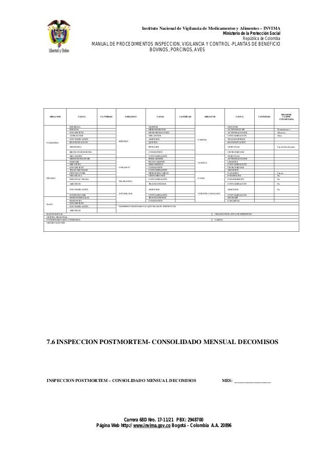 Manual inspeccion plantas