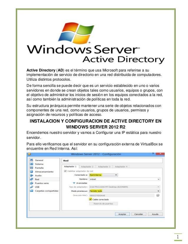 Manual de active directory
