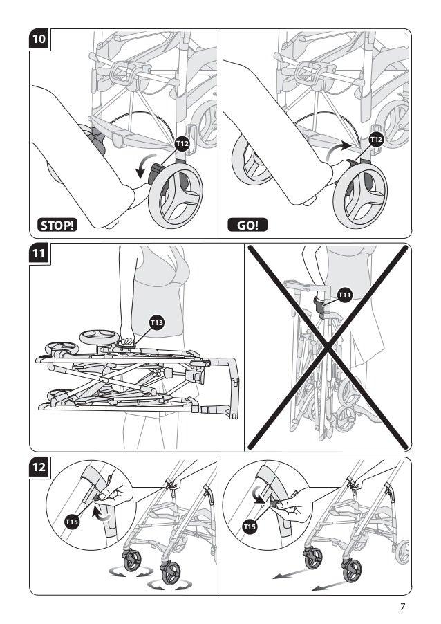 Manual instruções cadeira trilogy inglesina