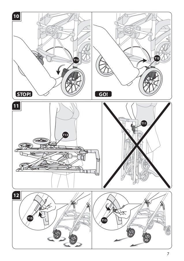 Manual instruções carrinho otutto deluxe inglesina
