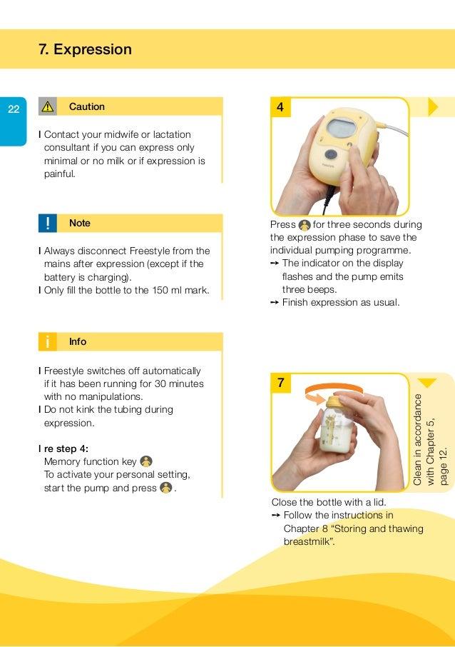 Manual de intrues extrator eltrico duplo freestyle da medela 22 fandeluxe Choice Image