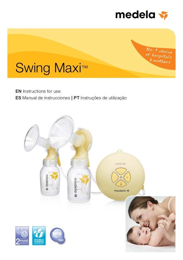 medela swing maxi instructions