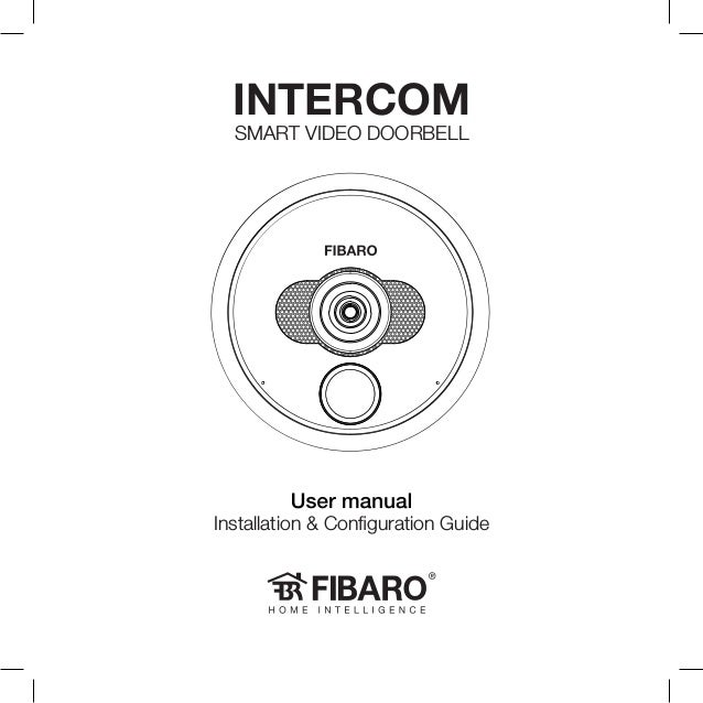 Installation & Configuration Guide INTERCOM SMART VIDEO DOORBELL