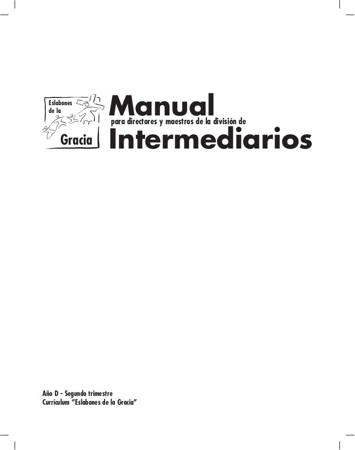 Menores: Manual intermediarios