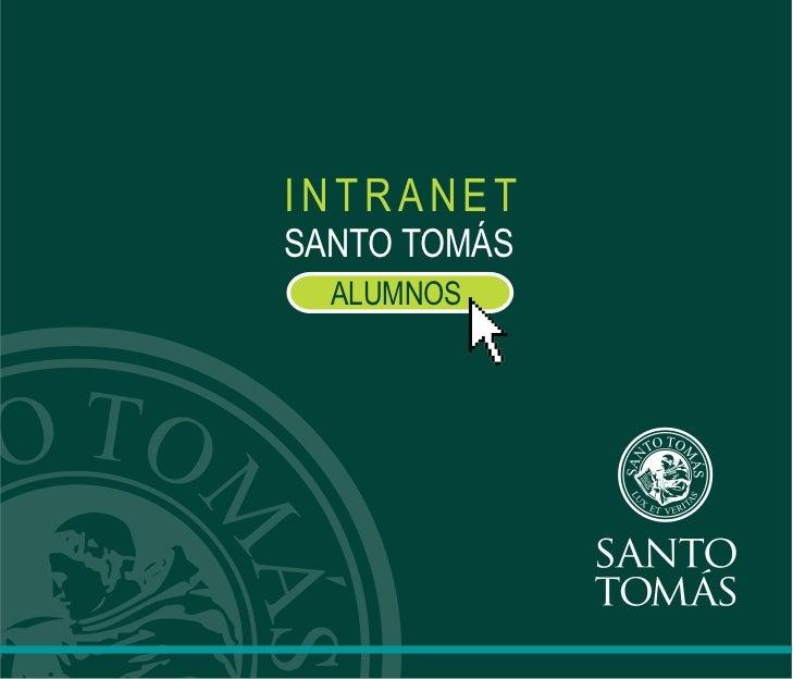 INTRANETSANTO TOMÁS  ALUMNOS