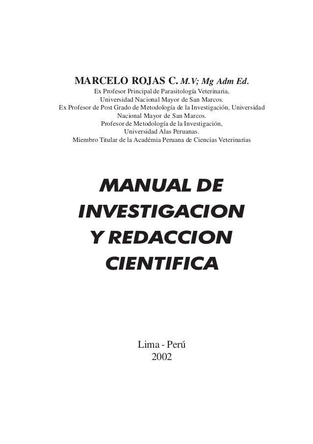 Marcelo Rojas C. MARCELO ROJAS C. M.V; Mg Adm Ed. Ex Profesor Principal de Parasitología Veterinaria, Universidad Nacional...