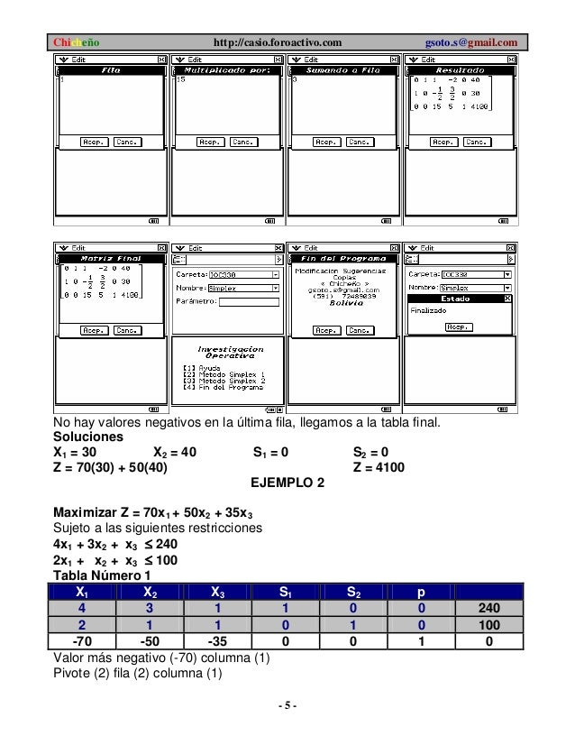 Simplex 100 Manual