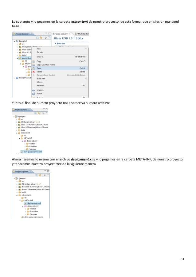 Manual Jboss Server,Creación de Proyecto en Eclipse
