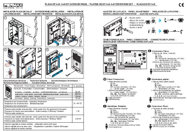 manual kit portero city classic 4 l ref 06335 1 638?cb=1390283098 manual kit portero city classic 4 l ref 06335 fermax wiring diagram at gsmx.co