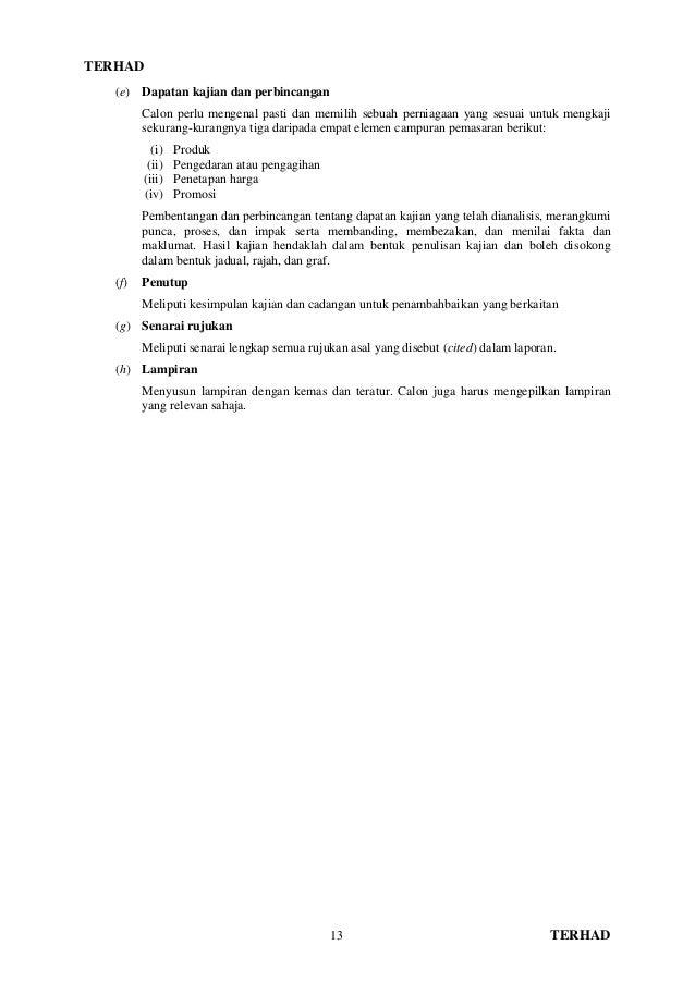 Manual Kerja Kursus Pengajian Perniagaan Stpm Penggal 3 2015