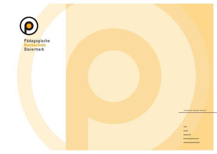 corporate design manual     logo  farben  typografie  gestaltungselemente  anwendungsbeispiele