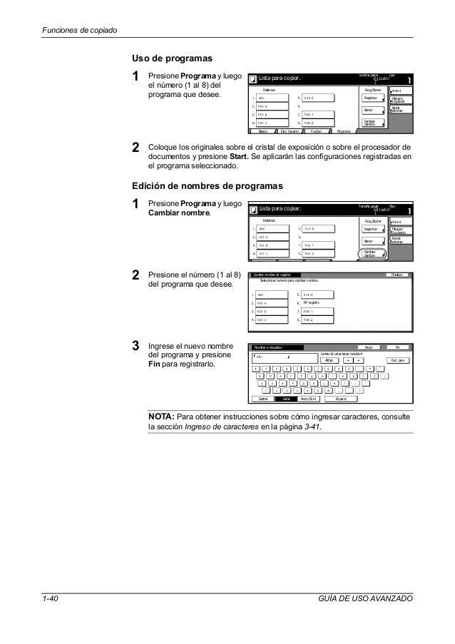 Manual kyocera 6030