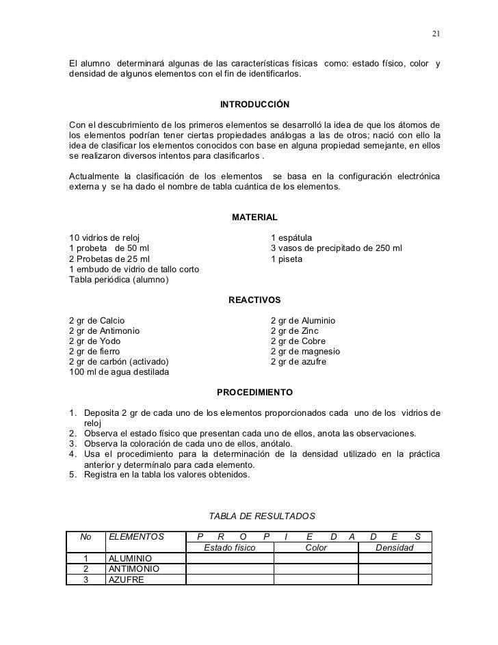 Manual de laboratorio de qumica bsica 5 tabla peridica objetivo 21 urtaz Image collections