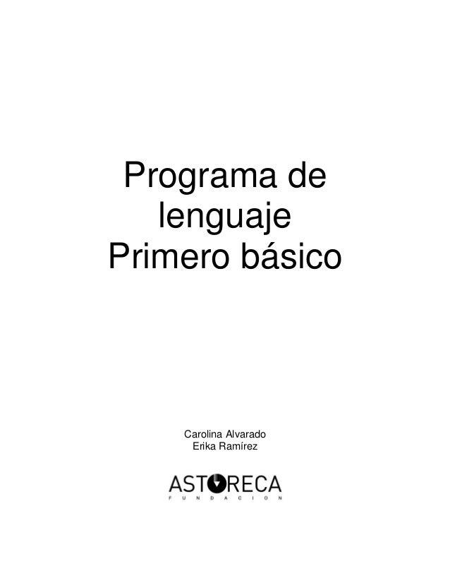 Manual lenguaje 1º astoreca