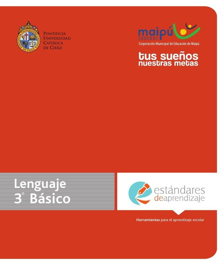Lenguaje3 Básico           Herramientas para el aprendizaje escolar                                                      1