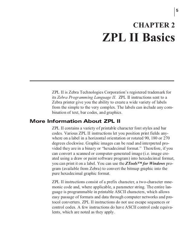 manual lenguaje zebra rh slideshare net zebra zpl commands manual zebra zpl user manual