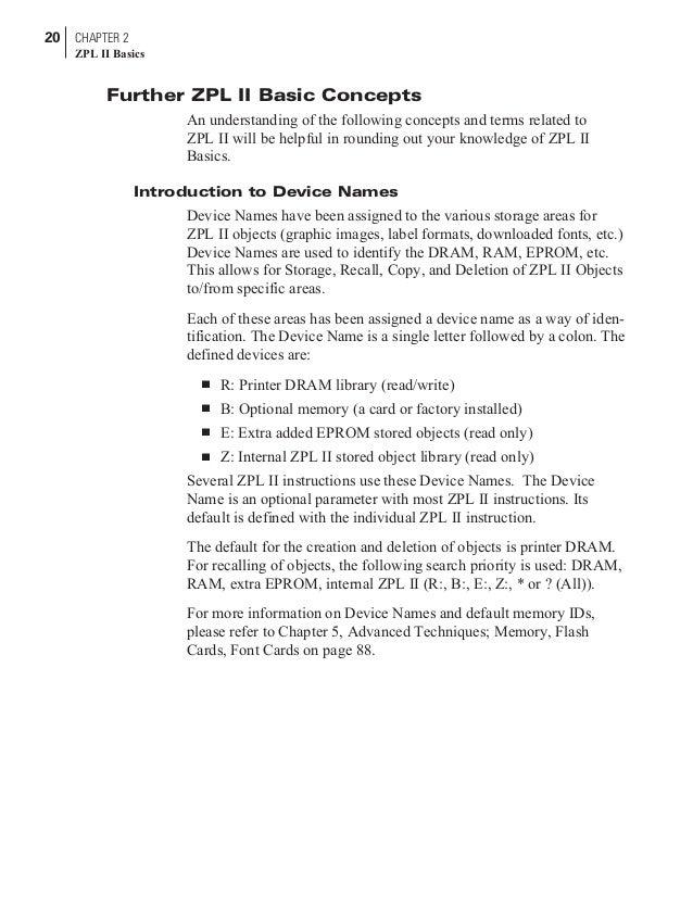 manual lenguaje zebra rh slideshare net zebra zpl commands list zebra zpl manual portugues